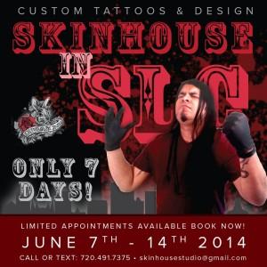 Skinhouse Tattoo Studio in Salt Lake City