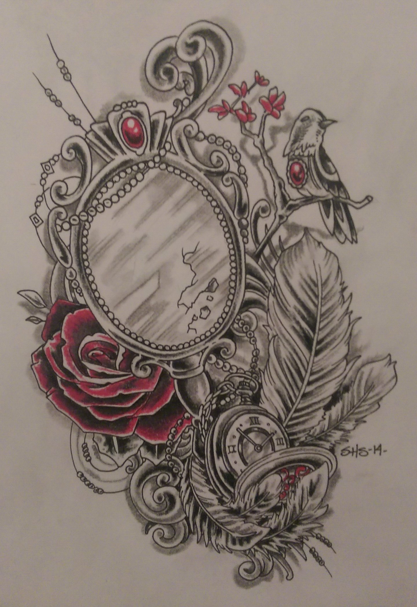 Longmont_tattoo_Artist_Skinhouse_mirror