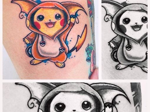 Pikachu Tattoo