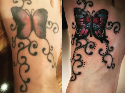 Butterfly Tattoo Rework