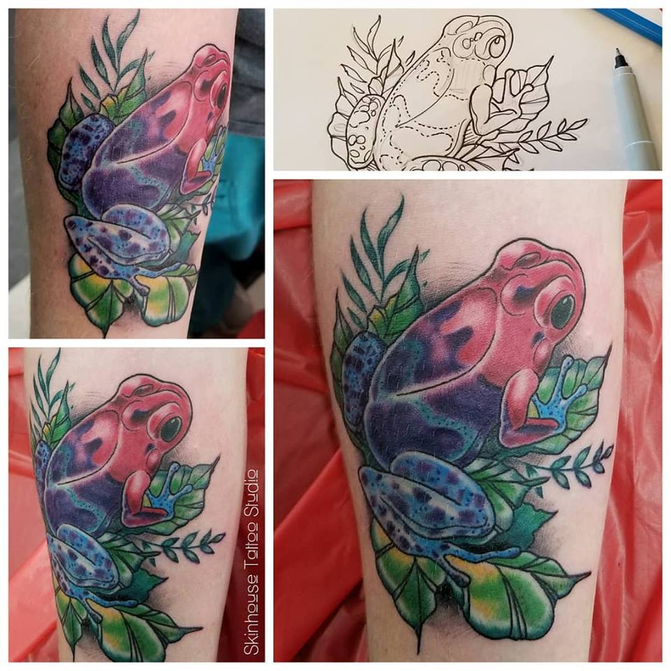 Raul Regalado Tattoo Studio Longmont frog_tattoo_longmont_colorado_tattoo