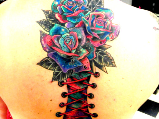 Galaxy Rose Tattoo Longmont Colorado