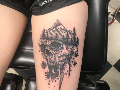 Mountain Breeze Tattoo