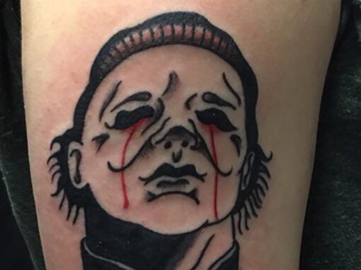 Michael Myers Halloween Tattoo