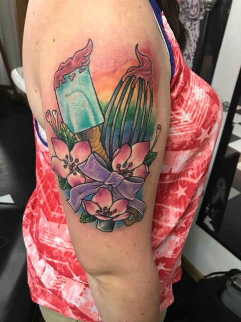Baking Tattoo Mick Minyard