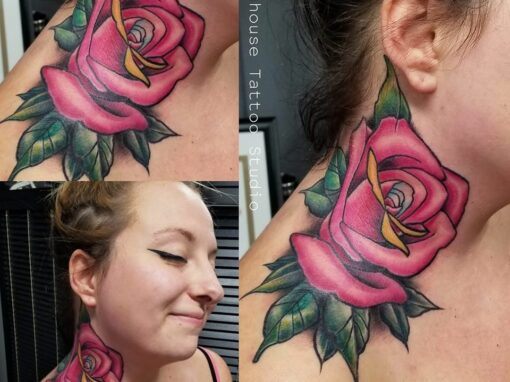 Rose Tattoo Longmont Colorado